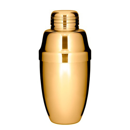 Cobbler Shaker - Gold Plated