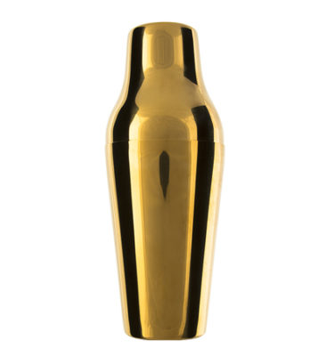 'Parisienne' Shaker - Gold Plated
