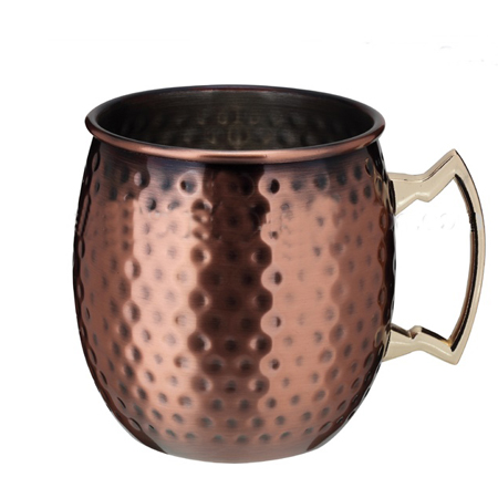 Moscow Mule Antique Copper Mug